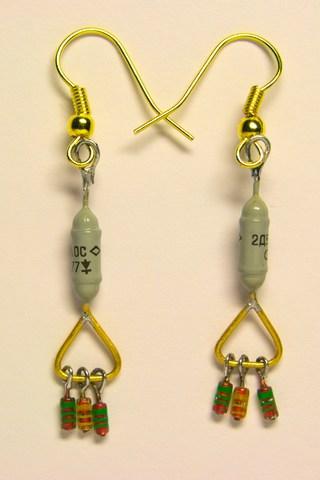 Сережки з діодів 2Д504А та КД52х