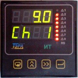 Покази термопари в лабораторії