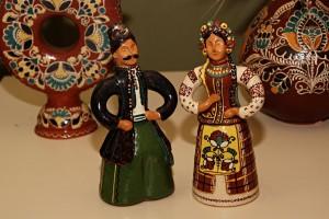 Керамічні ляльки (учнівська робота, Опішня)