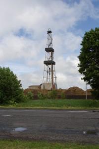 Бурова вишка у Полтавській області (фото)