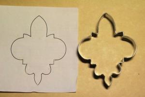 Формочка для печива і вигляді емблеми Пласту