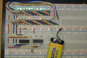 Перемикач гірлянд на логічних мікросхемах